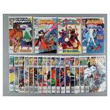 West Coast Avengers #42-62 Comic Run