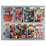 10pc Silver & Bronze Age Daredevil Comics