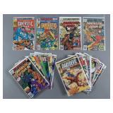 20pc Bronze Age Marvel Comics w/ Daredevil