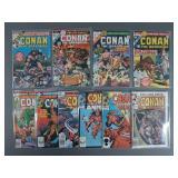 Bronze Age King Size Conan Annuals #1-10
