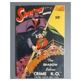 Golden Age The Shadow V7 #7 Comic Book