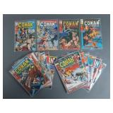Bronze Age Conan the Barbarian #2-22 Comic Run