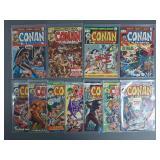 Bronze Age Conan the Barbarian #23-33 Comic Run