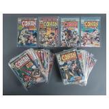 Bronze Age Conan the Barbarian #46-105 Comic Run