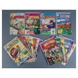 18pc Silver Age Harvey Thriller Comics w/ #1