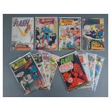 13pc Silver Age DC Comic Books w/ Flash