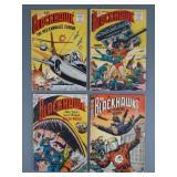 4pc Golden Age Blackhawk Comic Books