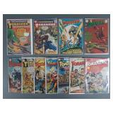 11pc Vintage Blackhawk & Tomahawk Comic Books
