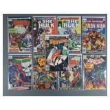 9pc Bronze Age Marvel Comics w/ Spiderwoman #1