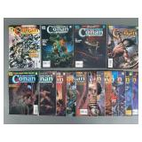 Savage Sword of Conan Comic Magazines #220-235
