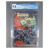 CGC 9.8 Batman-Spawn War Devil Comic Books