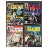 Six Million Dollar Man Comic Book Magazines # 1-4