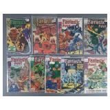 9pc Silver Age Fantastic Four Comic Books