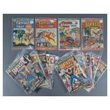 29pc Bronze Age Fantastic Four Comic Books
