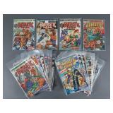 38pc Bronze Age Fantastic Four Comic Books