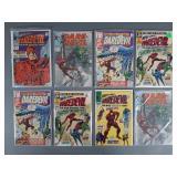 8pc Silver Age Daredevil Comic Books