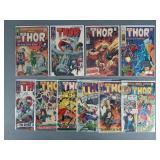 10pc Silver Age Thor & Journey Comic Books