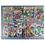 12pc Silver Age Marvel Comic Books