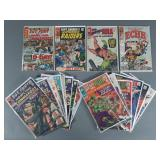 20pc Silver Age Marvel Comic Books