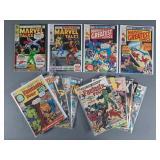 15pc Silver Age Marvel Comic Book Lot