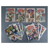 13pc Silver Age Marvel Collector