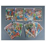 14pc Bronze Age Fantastic Four Comic Books