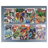 9pc Silver & Bronze Age Fantastic Four Comics