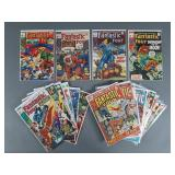 19pc Bronze Age Fantastic Four Comic Books