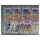 13pc X-Factor Key Comic Book Lot w/ #6
