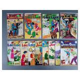 13pc Silver Age DC Jimmy Olsen & Lois Lane Comics
