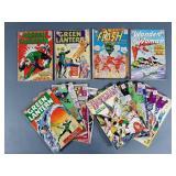 17pc Silver Age DC Comic Books w/ JLA