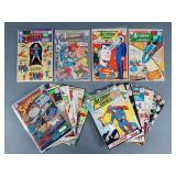 17pc Silver Age Superman & Action Comics