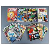 22pc Silver Age DC Comics w/ Atom, Metal Men