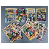 22pc Bronze Age Captain America Comic Books