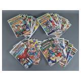 47pc Bronze Age Captain America Comic Books