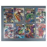 8pc Silver Age Fantastic Four Comic Books
