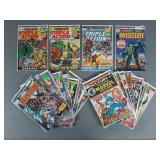 22pc Bronze Age Marvel Comic Book Lot