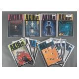 12pc Akira Comic Graphic Novels w/ #1-7 +