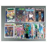 25pc Vintage Ninja Turtles TMNT Comic Books