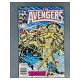 Marvel Avengers #257 Comic-1st Nebula