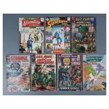 7pc Silver Age Marvel & DC Comic Lot w/ Detective