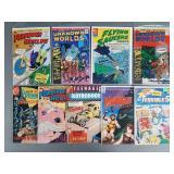 9pc Silver Age IND Comic Book Lot w/ Sci-Fi