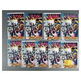 9pc Uncanny X-Men #283 Comic Books