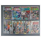 16pc Bronze Age Conan Comic Books
