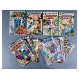 23pc Bronze Age Fantastic Four Comics