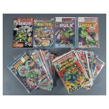 41pc Bronze Age Marvel Comic Book Lot