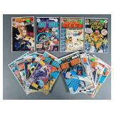 15pc Bronze Age DC Comic Books w/ Batman