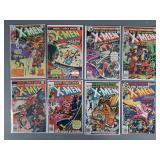 8pc Bronze Age X-Men Comic Books