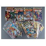 33pc Bronze Age Marvel Comic Books