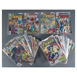 45pc Bronze Age Avengers Comic Books